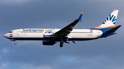 A picture of TCSEY - Boeing 7378HC - SunExpress - © Manuel Mueller