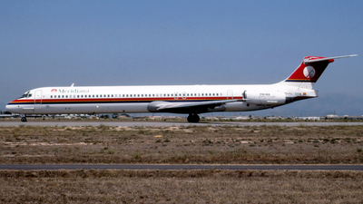 EC-EKM - McDonnell Douglas MD-83 - Meridiana