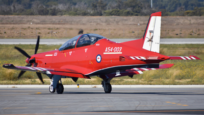 A54-003 - Pilatus PC-21 - Australia - Royal Australian Air Force (RAAF)