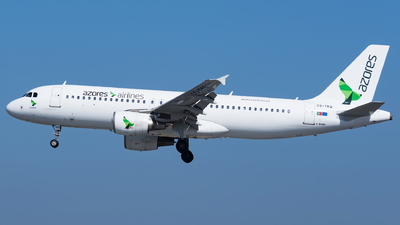 CS-TKQ - Airbus A320-214 - Azores Airlines