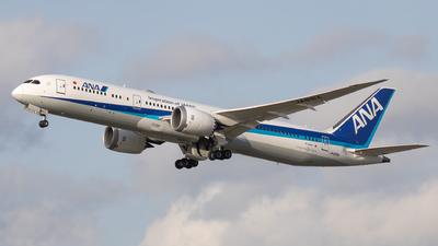 A picture of JA891A - Boeing 7879 Dreamliner - All Nippon Airways - © Jeremy De Winter (jdw.spotting)