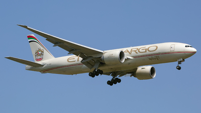 A picture of A6DDC - Boeing 777FFX - Etihad Airways - © Chris Pitchacaren
