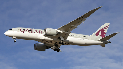 A picture of A7BCZ - Boeing 7878 Dreamliner - Qatar Airways - © Paul Spijkers