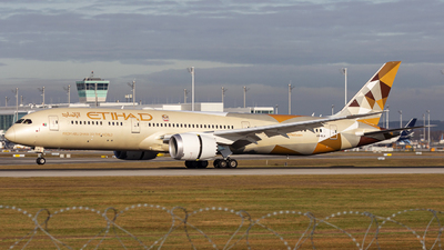 A6-BLX - Boeing 787-9 Dreamliner - Etihad Airways