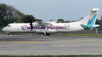 9Y-TTD - ATR 72-212A(600) - Caribbean Airlines