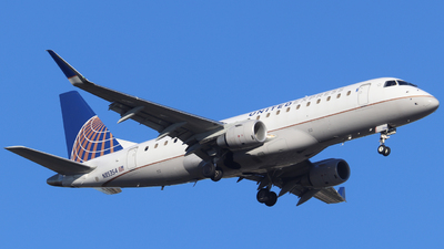 A picture of N85354 - Embraer E175LR - United Airlines - © Scotty Antico