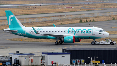 A picture of HZNS32 - Airbus A320251N - Flynas - © Alberto Cucini