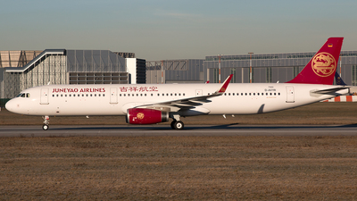 D-AVYR - Airbus A321-231 - Juneyao Airlines