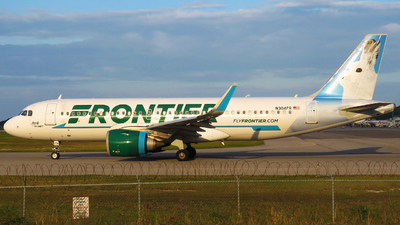A picture of N304FR - Airbus A320251N - Frontier Airlines - © Rupert Haughton - Jamaica MBJ Spotter