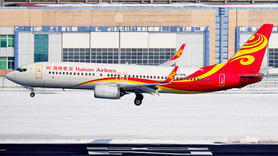 A picture of B7379 - Boeing 73784P - Hainan Airlines - © MingyaoLeonardo