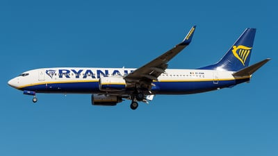 A picture of EIENM - Boeing 7378AS - Ryanair - © xuhaoqing995