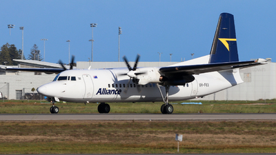 A picture of VHFKV - Fokker 50 - Alliance Airlines - © ZRY246