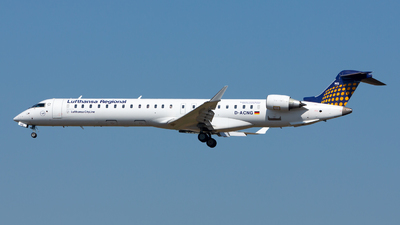 D-ACNG - Bombardier CRJ-900LR - Lufthansa Regional (CityLine)