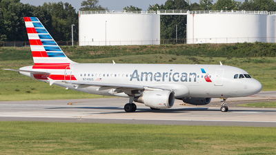 N749US - Airbus A319-112 - American Airlines