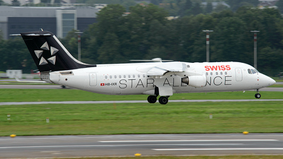 HB-IXR - British Aerospace Avro RJ100 - Swiss