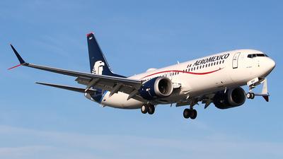 XA-MAY - Boeing 737-8 MAX - Aeroméxico