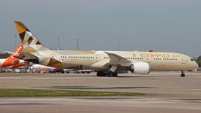 A6-BLW - Boeing 787-9 Dreamliner - Etihad Airways