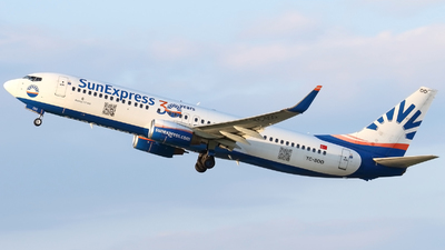 A picture of TCSOO - Boeing 7378AS - SunExpress - © Pawel Cieplak