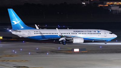 A picture of B1579 - Boeing 73785C - Xiamen Air - © AndySpotter