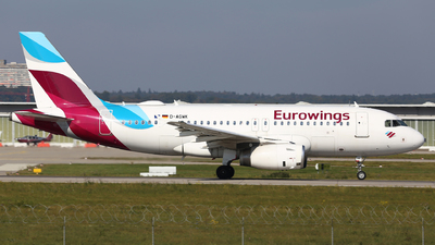 A picture of DAGWK - Airbus A319132 - Eurowings - © Eric Boettcher