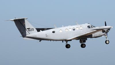 629 - Beechcraft B200T Zufit 2 - Israel - Air Force