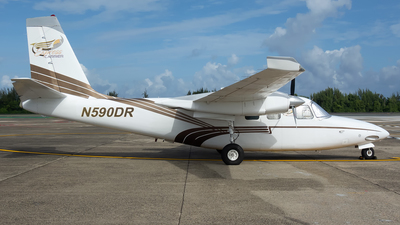 N590DR - Aero Commander 500S - Private