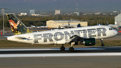 N943FR - Airbus A319-112 - Frontier Airlines