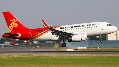 A picture of B8798 - Airbus A319133 - Shenzhen Airlines - © Jeppesen_Tu