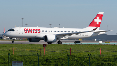 HB-JCL - Bombardier CSeries CS300 - Swiss