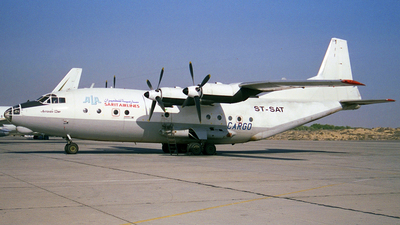 ST-SAT - Antonov An-12BP - Sarit Airlines