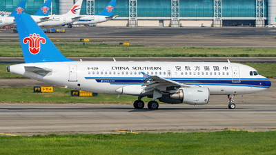 A picture of B6201 - Airbus A319115 - China Southern Airlines - © SINO6702