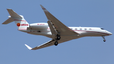 M-DVJJ - Gulfstream G650ER - Private