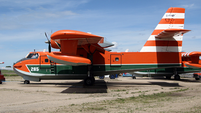 C-FYWP - Canadair CL-215-1A10 - Buffalo Airways