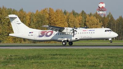 A picture of YLRAI - ATR 72202(F) - RAFAvia - ©  koba emukhvari