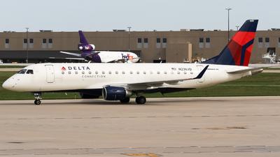 N236JQ - Embraer 170-200LR - Delta Connection (Republic Airlines)