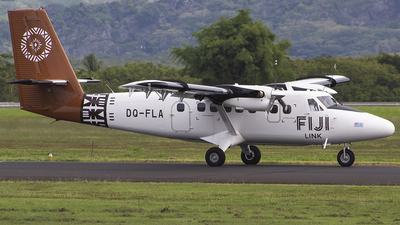 A picture of DQFLA - Viking DHC6400 Twin Otter - Fiji Airways - © JLRAviation