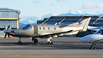 LX-JFV - Pilatus PC-12/47E - Jetfly Aviation