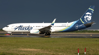 A picture of N552AS - Boeing 737890 - Alaska Airlines - © Mark Szemberski