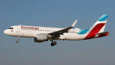 D-AEWT - Airbus A320-214 - Eurowings