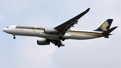 9V-STR - Airbus A330-343 - Singapore Airlines