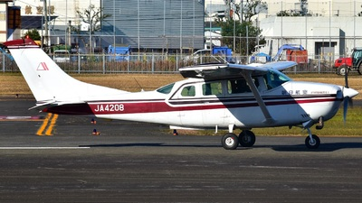 JA4208 - Cessna TU206G Turbo Stationair - Asahi Air