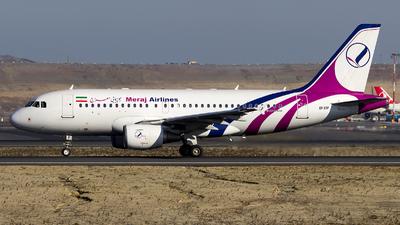 EP-SSP - Airbus A319-111 - Meraj Air
