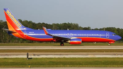N8607M - Boeing 737-8H4 - Southwest Airlines