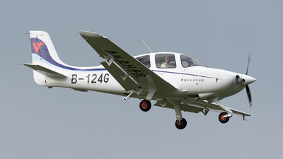 B-124G - Cirrus SR20-G6 - Civil Aviation Flight University of China