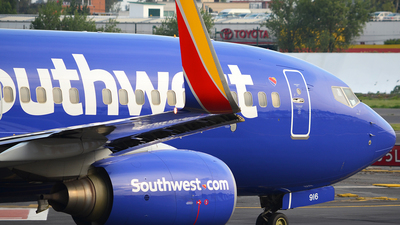 N916WN - Boeing 737-7H4 - Southwest Airlines