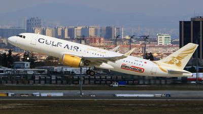 A9C-TB - Airbus A320-271N - Gulf Air