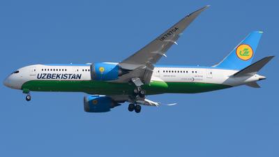 UK78704 - Boeing 787-8 Dreamliner - Uzbekistan Airways
