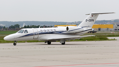 D-CEFA - Cessna 525C CitationJet 4 - E-Aviation
