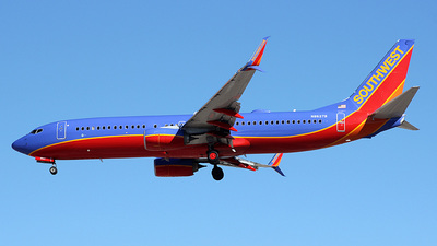 N8627B - Boeing 737-8H4 - Southwest Airlines