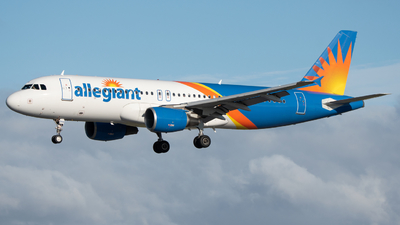 N243NV - Airbus A320-214 - Allegiant Air